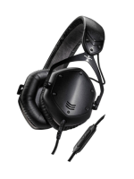 V-moda Crossfade LP2 V2 Matte Black Metal