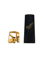 Vandoren Legature + Cap M/O for Soprano Sax Antic Gold