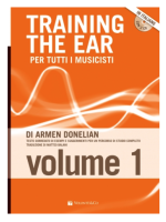 Volonte Training The Ear Vol.1 Per tutti i musicisti di Armen Donelian