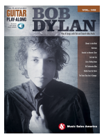 Volonte Bob Dylan - Guitar Play Along Volume 148