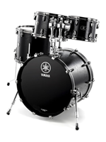 Yamaha LCROCKBKW - Live Custom Rock Set in Black Wood