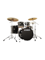 Yamaha SBP0F5RBL6W - Stage Custom 5-Piece Drumset in Raven Black