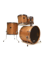 Yamaha Stage Custom Standard - 4 Pcs Drumset in Mat Natural Wood