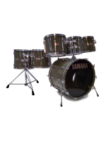 Yamaha YD-9000 PRC 1492 - Power Recording Custom Drumset in Quartz Grey